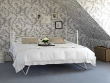 Ludlow wallpaer from Archive Traditional at Cole & Son, styled by Feather and Black.