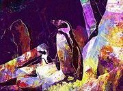 "New artwork for sale! - "" Birds Penguins Animals Bird Zoo  by PixBreak Art "" - http://ift.tt/2ung5ET"