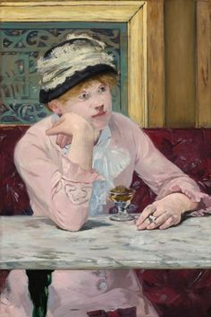 Brandy de ciruela. Edouard Manet.