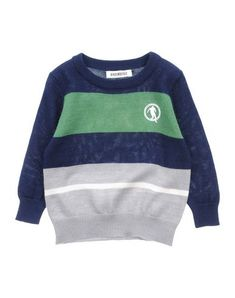 BIKKEMBERGS Boy's' Sweater Green 18 months