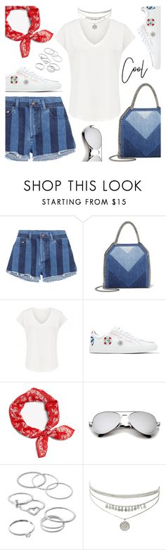 """""""Cool beauty"""" by dressedbyrose ❤ liked on Polyvore featuring Yves Saint Laurent, STELLA McCARTNEY, Mira Mikati, rag & bone and LC Lauren Conrad"""