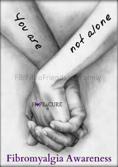 You are not alone (ever!). #support #chronic #illness #chronically_ill #pain #health #fibromyalgia