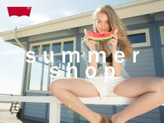 #summer #shop #summershop #holiday #liveinlevis #levisstrauss #levis #beach #photoshoot #photo #model #vacation #sea