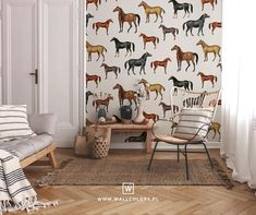 Removable vintage wallpaper self-adhesive horses pattern vintage kitchen unique graphics botanical room decor Vintage Wallpaper, Horse Wallpaper, Dark Wallpaper, Vinyl Wallpaper, Self Adhesive Wallpaper, Pattern Wallpaper, Vintage Room, Vintage Walls, Dark Green Background