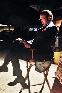 Hannibal - Mads is an avid mystery / action reader . . .