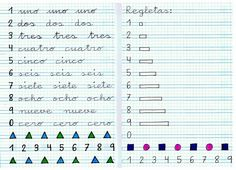 Caligrafía: Material de refuerzo (I) - Web del maestro Fine Motor Activities For Kids, Calligraphy Tutorial, Preschool Writing, Handwriting Practice, 5th Grades, Teaching English, Hand Lettering, Notebook, Bullet Journal