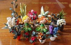 꽃의 요정 :: 네이버 블로그 - Miniatures in Quilling