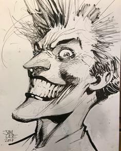 The Joker by Jim Lee.