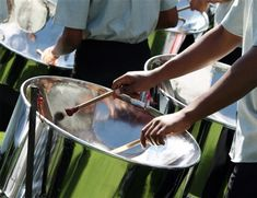 Steel drum band for ceremony and dinner