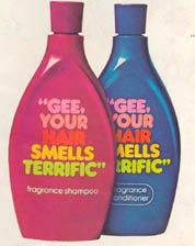 """Gee Your Hair Smells Terrific"" I so wish that this was on the market!!!!!"