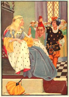 Elizabeth Curtis from Stokes Wonder Book of Fairy Tales 1917 Facebook Art, Art Deco Illustration, Wonder Book, Graphics Fairy, Alphonse Mucha, Children's Picture Books, Classic Literature, Mermaid Art, New York Public Library