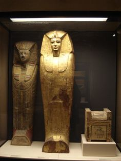 - 2.1.4. E. - Seventeenth dynasty // The Seventeenth Dynasty covers a period of time when Egypt was split into a set of small Hyksos-ruled kingdoms. * Coffin of Sekhemre-Heruhirmaat and Sekhemre-Wepmaat (and his canonic box) - Musée du Louvre, Paris