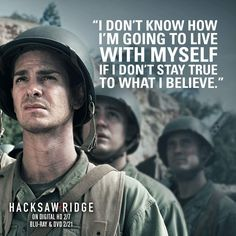 Desmond Doss | Hacksaw Ridge