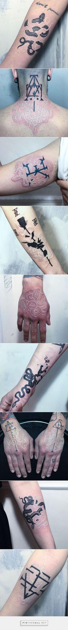 Black And White Snake Tattoos By Mirko Sata   Bored Panda - created via https://pinthemall.net