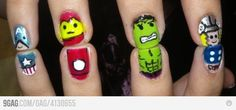 The Avengers' Nails