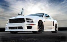 "americanmusclepower: "" Custom Ford Mustang """