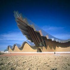 Bodegas Ysios (by S. Calatrava)