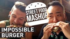Trying The Impossible Burger Made From Bloody Veggies https://youtu.be/5TkHAIqP02g #impossibleburger #vegan