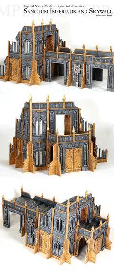 Sanctum Imperialis, Sanctum Imperialis and Skywall