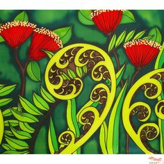 New Zealand Birds and Koru Canvas - Set of 3