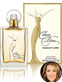 Celine Dion Signature 50ml T $24.99 Amour Fragrances & Beauty Boutique 1555 Talbot Rd. LaSalle, Ont. N9H 2N2 (519) 967-8282