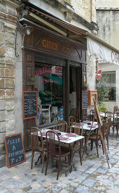 Cafe Chez Coco ~ Aigues-Mortes, Provence