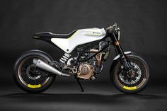 Husqvarna motorcycles based on KTM frames to come to India. Recently at the Milan Show in November, Husqvarna showcased the 401 Vitpilen and the 401 Svartpilen Motorcycle News, Cafe Racer Motorcycle, Motorcycle Helmets, Women Motorcycle, Motorcycle Quotes, Concept Motorcycles, Custom Motorcycles, Cars And Motorcycles, Husqvarna