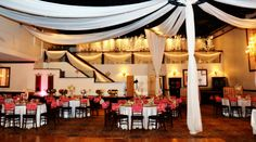 Pelazzio Full Service Wedding Venue can help create the ceremony, reception, or both! #Houston #Reception #Wedding #Tables #Chairs #Setup #Venue #Decor #Centerpiece #Inspiration www.pelazzio.com