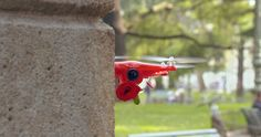 Drone Delivers Red Roses To Couples in Verona For Valentine's Day