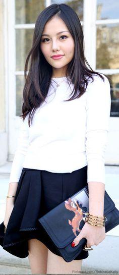 Street Style Paris | Black and White