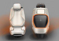 Gashetka | Transportation Design | 2014 | Land Rover Discovery Vision Concept |... Car Interior Sketch, Car Interior Design, Interior Rendering, Interior Concept, Automotive Design, Gaming Furniture, Car Upholstery, Transportation Design, Land Rover Defender
