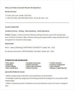 General resume objective for entry level general resume objective 7 sales associate resume templates pdf doc free premium templates altavistaventures Images