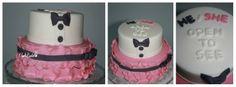 Gender reveal cake - Cute gender reveal cake