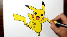 How to Draw Pikachu Step By Step - Toy Toons