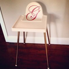 fotstöd av ett bord dla dzieci pinterest babies high chairs