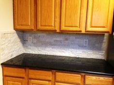 find this pin and more on granite medium colored wood cabinets by graniteclt. beautiful ideas. Home Design Ideas