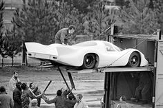 Le Mans 1970 week end test. Porsche 917LH.