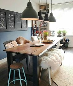 Reclaimed wood kitchen units Ideas for 2019 Loft Interior Design, Bohemian Interior Design, Home Living, My Living Room, Reclaimed Wood Kitchen, Kitchen Wood, Rooms Ideas, Loft Interiors, Kitchen Units