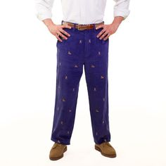 WIDE WALE CORDUROY PANT GRAPE WITH WINTER SPORTS