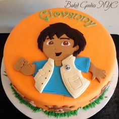DIEGO CAKE...ideas for Jake's birthday cake