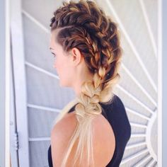 Cool braided hairstyles for natural hair are the options to uncurl your long hair