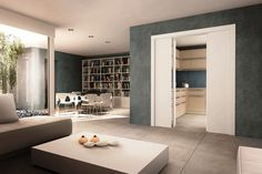 Door frame Applauso the ideal solution for limited wall space Masonry Wall, Space Available, Pocket Doors, Metal Box, Interior Walls, Wall Spaces, Doorway, Sliding Doors, Bathtub