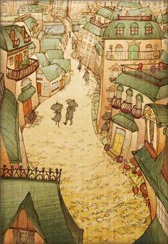 Art and Illustration by Evelyn Samadhi Art And Illustration, Art Beauté, Ludwig Bemelmans, Victorian Art, Arte Popular, Folk Art, Fantasy Art, Art Prints, Drawings