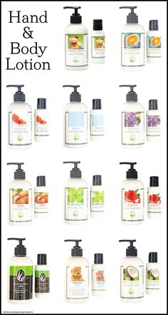You have many options to choose from with out hand and body lotions.  I love the pomegranate and men's private reserve!