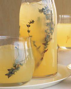 vodka thyme lemonade.
