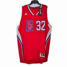 27f628c6633 NWT adidas NBA Swingman Los Angeles Clippers Blake Griffin 32 Jersey size  2XL  adidas