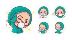 Yoga Cartoon, Nurse Cartoon, Cute Polar Bear, Cute Panda, Crocodile Cartoon, Doctor For Kids, Cute Raccoon, Cute Nurse, Cute Tigers