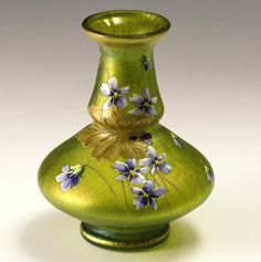 Loetz Cisele Decorated Vase. | Collectors Weekly