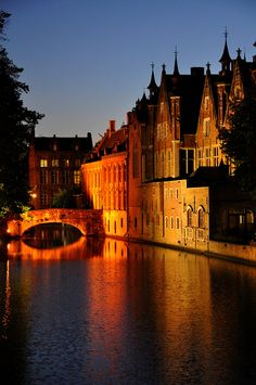 Brugge's nights, Belgium...hmm, okay definitely on the list!