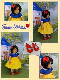 American Girl Doll as Snow White